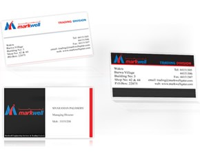 Actractive business card design company cochin ernakulam