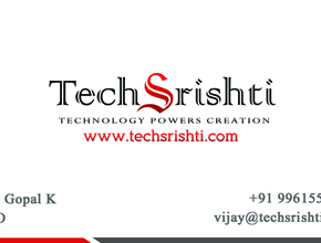 Actractive business card design company kaloor,cochin,india